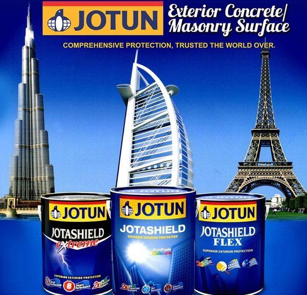 Sơn Jotun góp mặt công trình thế giới
