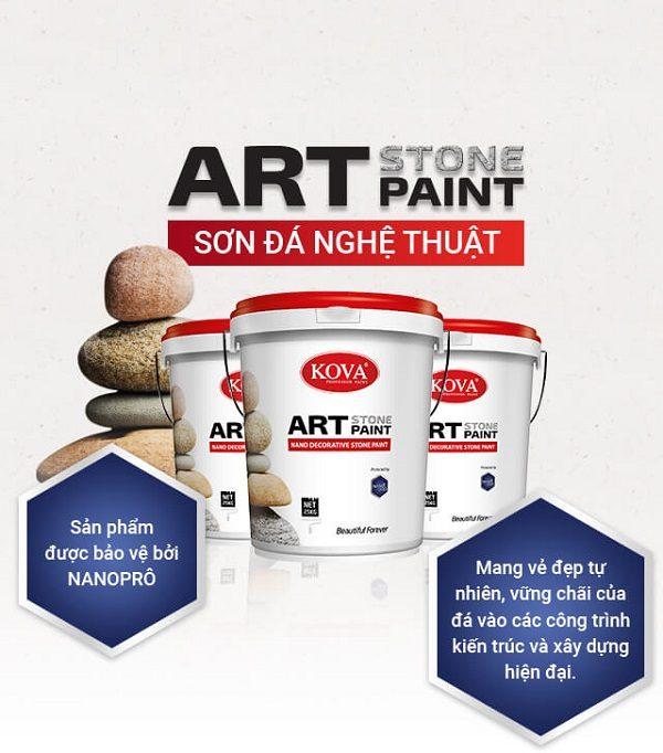 sơn kova sơn đá nghệ thuật