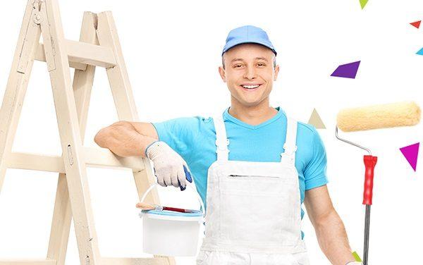 thợ sơn nhà an toàn