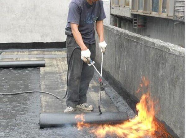 Bitum có khả năng chống cháy