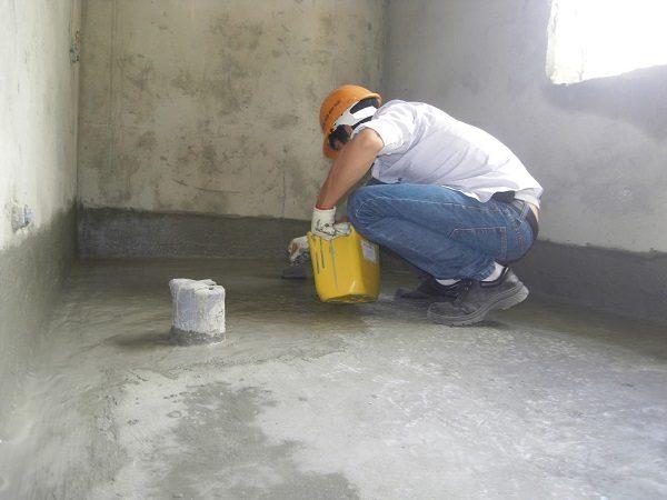 Chống thấm tầng hầm nhà cao tầng bằng hóa chất