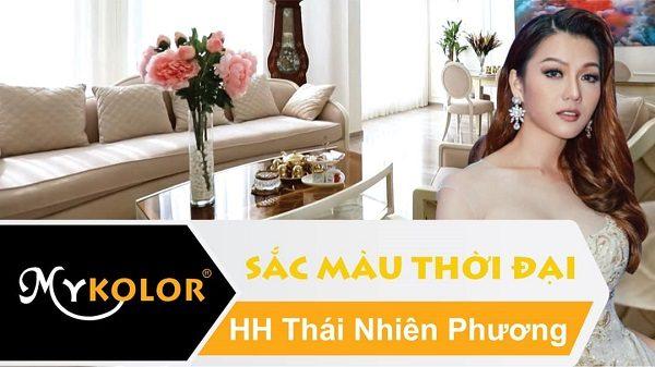 Cùng Mykolor tận hưởng không gian của HH Thái Nhiên Phương