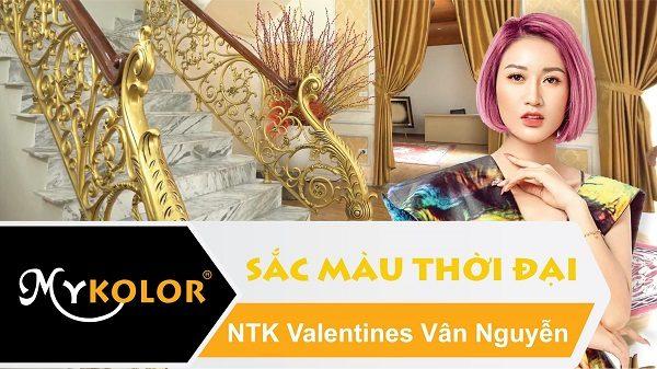 Cùng Mykolor tận hưởng không gian của NTK Vanlentins Vân Nguyễn