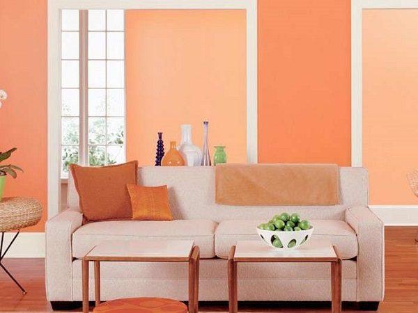 màu sơn nhà đẹp màu san hô