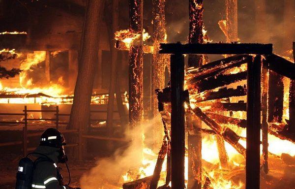 sắt thép bị cháy ở nhiệt độ cao