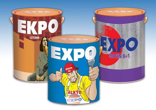 Sơn chịu nhiệt Expo