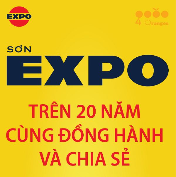 Sơn Expo 20 năm đồng hành và chia sẻ