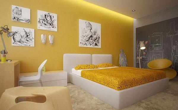 Sơn Mykolor màu vàng