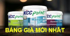 Bảng báo giá sơn KCC mới cập nhật giá rẻ, uy tín