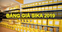 Bảng báo giá sơn Sika năm 2019 mới cập nhật