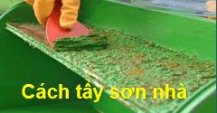 Cách tẩy sơn tường nhà nhanh chóng hiệu quả 1️⃣ VN