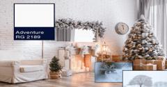 Chọn màu sơn nhà cho mùa giáng sinh năm nay 1️⃣ VN