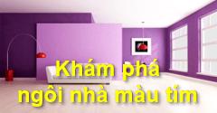 """Khám phá không gian """"căn nhà màu tím"""" mộng mơ 1️⃣ VN"""