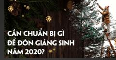 Mùa giáng sinh này cần chuẩn bị những gì? 1️⃣ VN