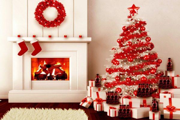 Sơn nhà màu trắng cho lễ giáng sinh
