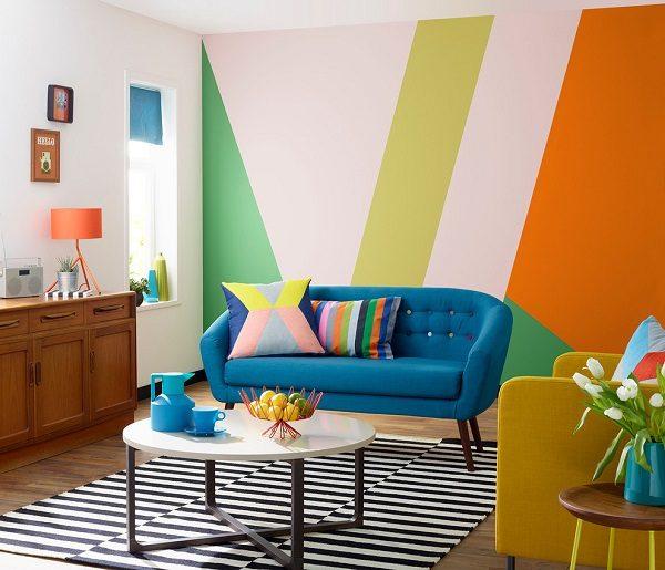 Thay đổi màu sơn tường