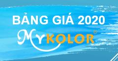Cập nhật bảng giá sơn Mykolor năm 2020 mới nhất