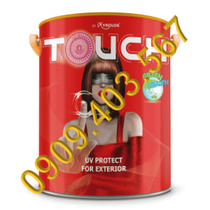 Sơn chống phai màu Mykolor Touch UV Protect For Exterior