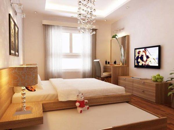 Phòng ngủ với phong cách Minimalism