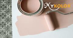 Sơn Mykolor màu hồng đất hợp với màu gì