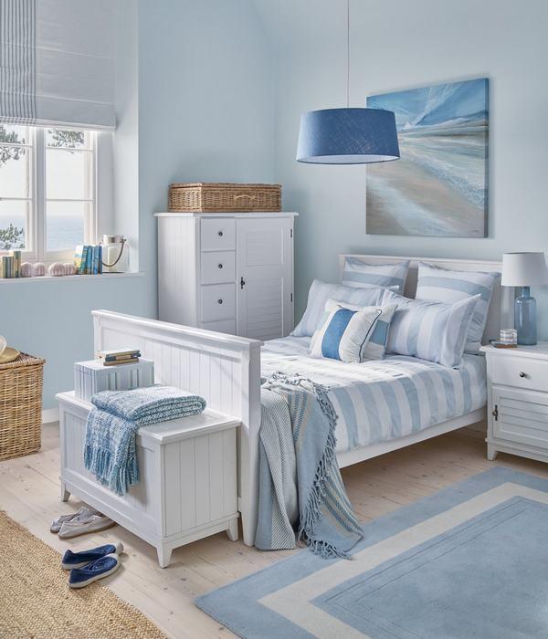 Sơn Mykolor màu xanh pastel cho phòng ngủ 1