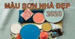 Top màu sơn nhà đẹp 2020 không thể bỏ qua