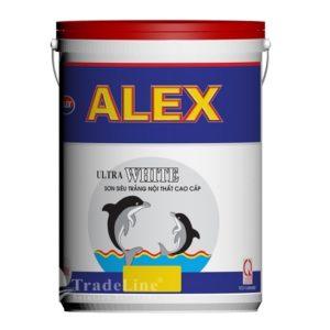 Sơn siêu trắng Alex Ultra White