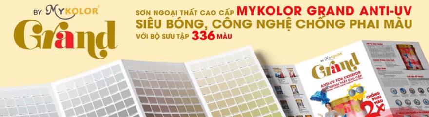 Bảng màu sơn chống phai màu Mykolor Grand năm 2020
