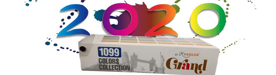 Bảng màu sơn Mykolor năm 2020 có gì đặc biệt?