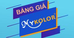 Cập nhật giá phẩm mới sơn Mykolor Grand năm 2020
