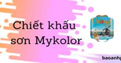 Năm 2020 sơn Mykolor chiết khấu bao nhiêu phần trăm