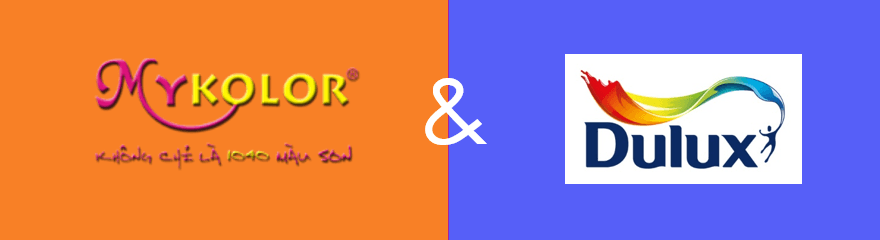 So sánh sơn Mykolor và Dulux nên sử dụng loại nào?