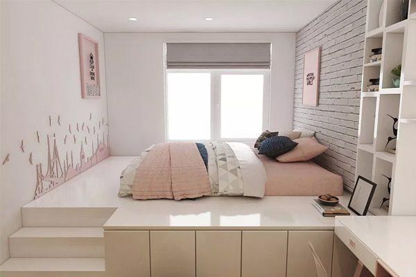 Thiết kế phòng ngủ tối giãn