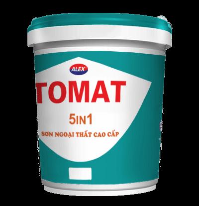 Sơn nước ngoại thất Tomat 5in1