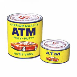 Bột trét ATM vàng cho ô tô