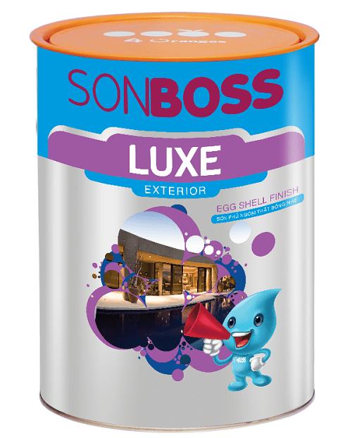 sơn Boss Luxe Exterior Egg Shell Finish