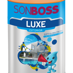sơn Boss Luxe Exterior Soft Gloss Finish