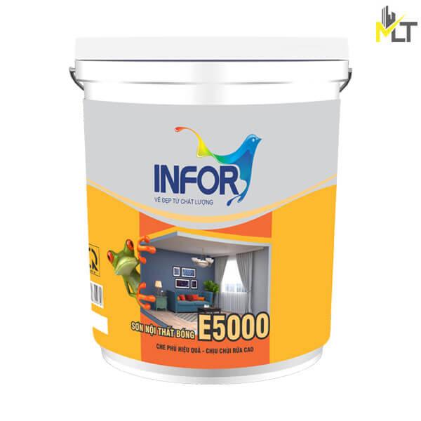 Sơn bóng nội thất Infor E5000