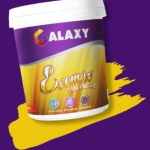 Sơn nội thất Galaxy Ecomax chịu chà xát