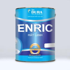 Sơn nước ngoại thất Dura Enric mát lạnh