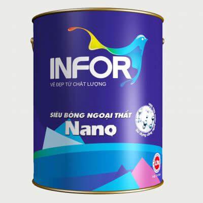 Sơn lót chống kiềm ngoại thất Infor Nano