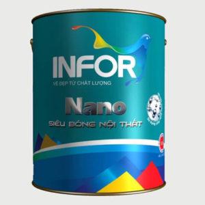 Sơn siêu bóng nội thất Infor NaNo