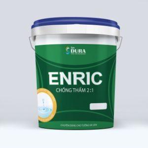 Sơn chống thấm Dura Enric pha Cement 2:1