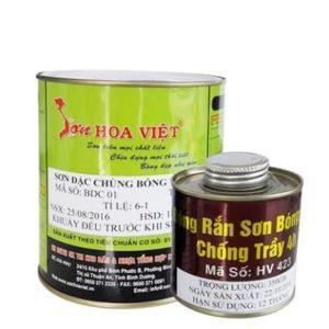 Sơn đặc chủng Hoa Việt 1️⃣ chống rỉ bề mặt kim loại