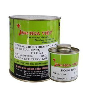 Sơn hiệu ứng kim loại vàng 24k Hoa Việt
