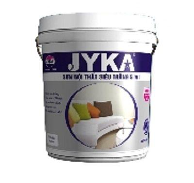 Sơn Jyka 5IN1 nội thất siêu trắng cao cấp
