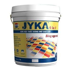 Sơn Jyka 6IN1 nội thất bóng mờ cao cấp 1️⃣ chính hãng