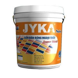 Sơn ngoại thất bán bóng Jyka Satin Supper Shield