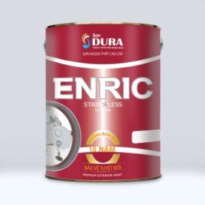 Sơn ngoại thất Dura Enric Satin Less Exterior chống bám bẩn