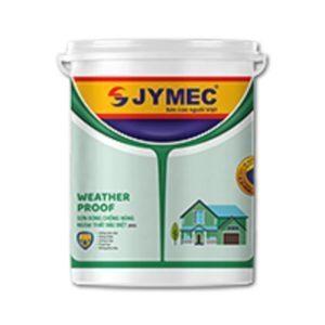 Sơn ngoại thất Jymec Weather Proof bóng chống nóng ngoại thất đặc biệt